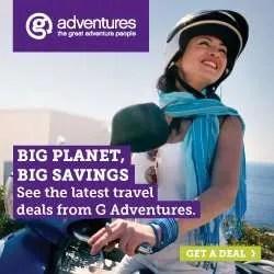 G Adventure Tours