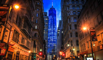 One World Tower Center in New York City.