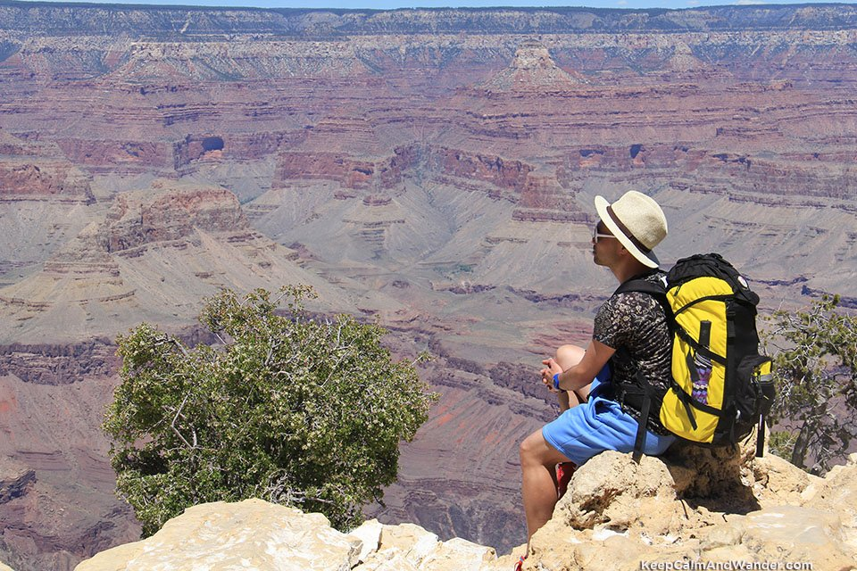 5 Essentials To Planning Your Trip In The United States Trail of Time at Grand Canyon South Rim.