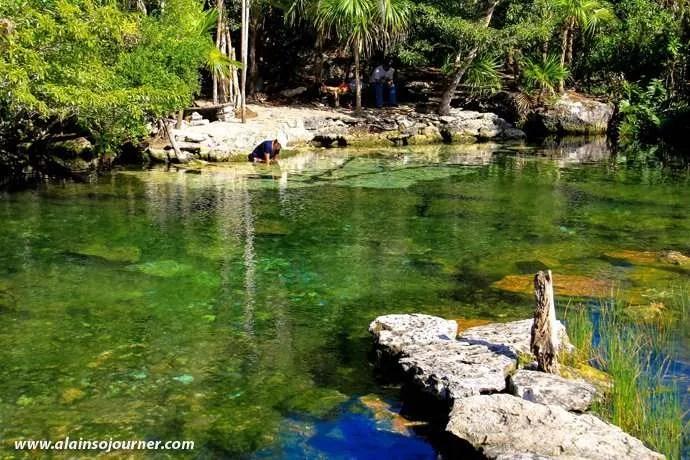 Cenote Azul Tulum Mexico Riviera Maya 13
