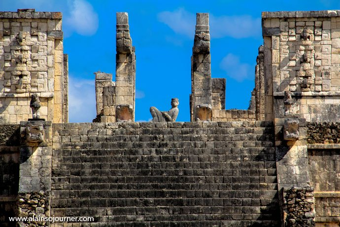 Chichen Itza Pyramid Mexico Kukulkan Cancun Tulum 9