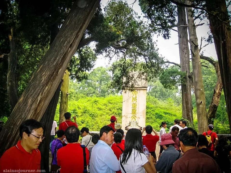 Confucius Tomb in Qufu, Shandong province, China