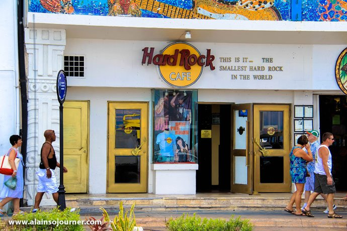 Hard Rock Cafe is found in San Miguel, Cozumel Island Snorkeling in Cozumel