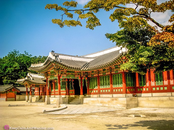 Changdeokgung Palace in Seoul is one of the five Imperial Palaces of Joseon Dynasty.
