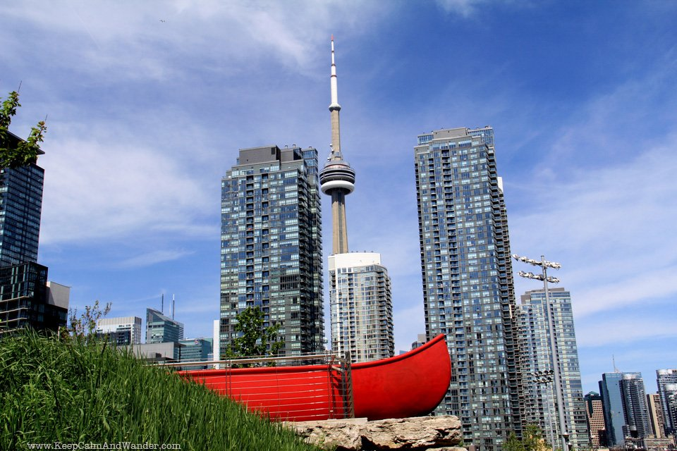Red Canoe Landing Park in Toronto
