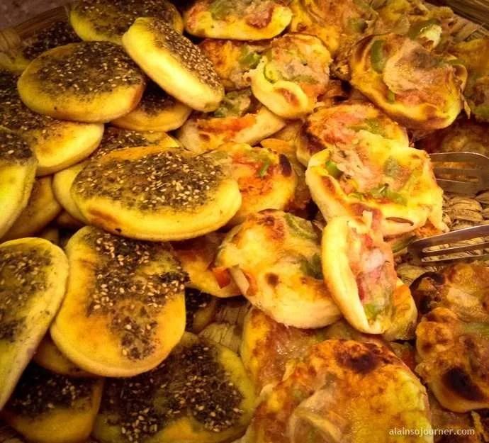 Jordanian Cuisine Pizza