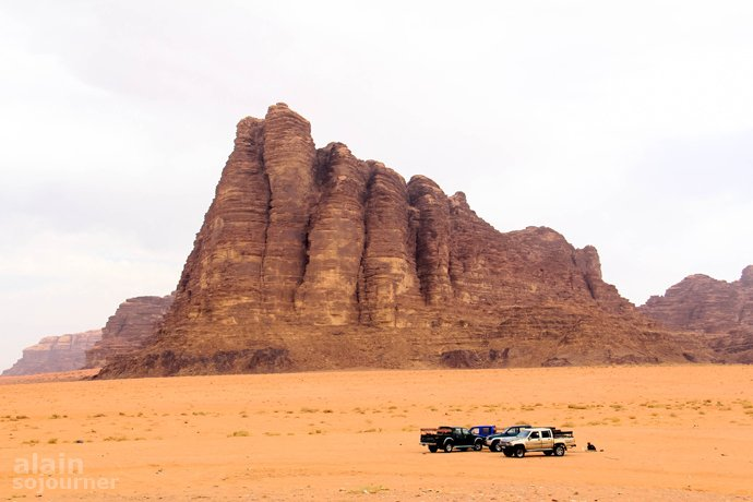 Seven Pillars of Wisdom Wadi Rum Jordan