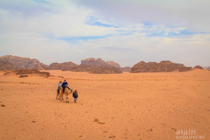 Wadi Rum Jordan T.E. Lawrence of Arabia