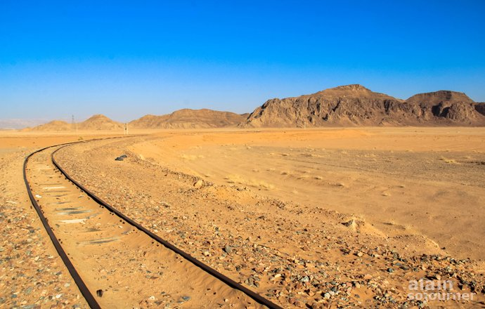 Wadi Rum Train Station