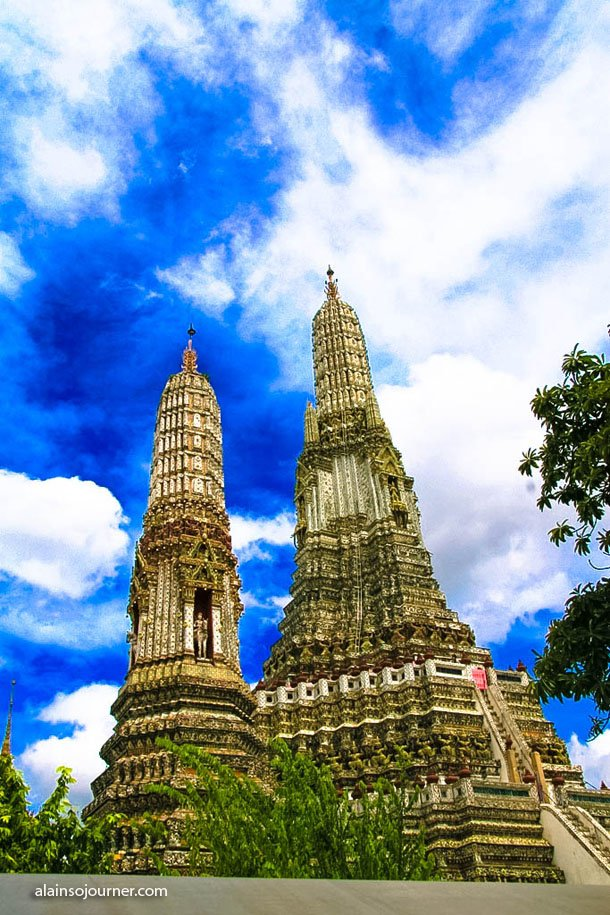 Wat Arun / Temple of Dawn in Bangkok, Thaniland.