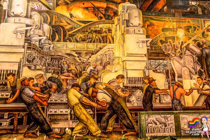 Diego rivera murals at detroit institute of arts for Enjoy detroit mural
