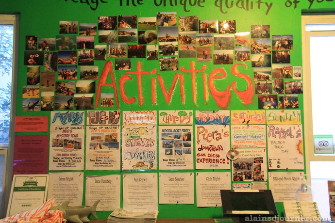 International Travelers House in San Diego Adventure Hostel
