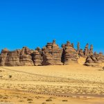 Athleb Mountain – The Skyscrapers of Madain Saleh