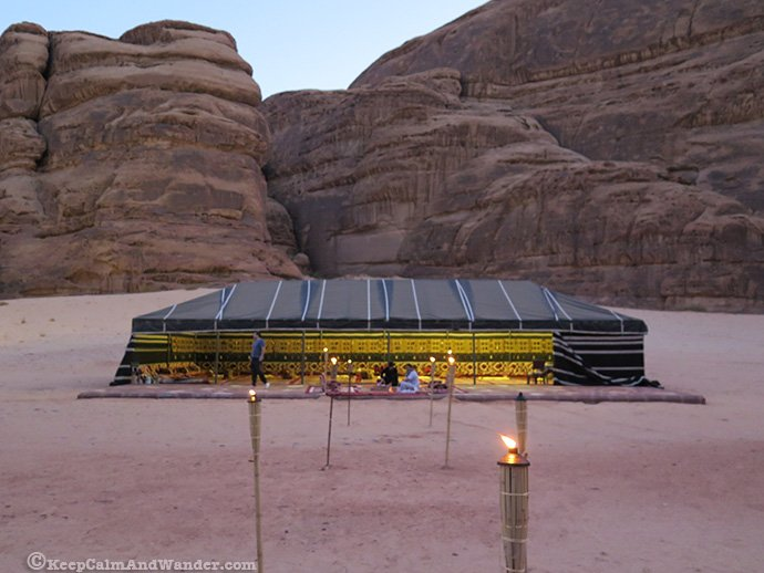 Madakhil Camp at Madain Saleh is just a few kilometres away outside Al Ula.