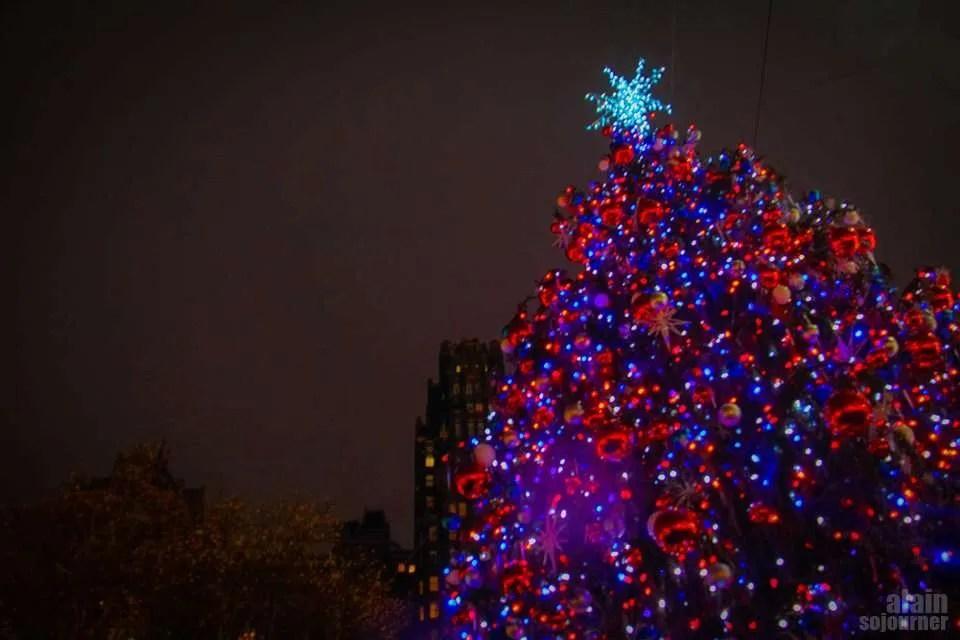 Christmas in New York / Bryant Park.