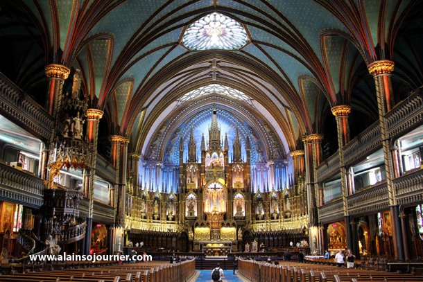 Notre Dame Basilica Montreal My 2012 Travels