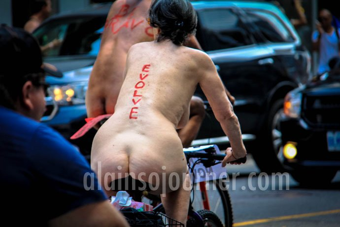 World Naked Bike Ride Toronto 2013 WNBR 9