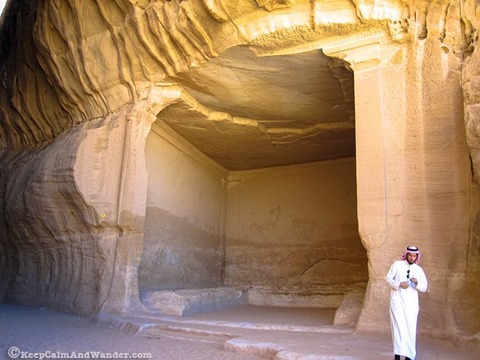 Al Diwan at Madain Saleh, Saudi Arabia.