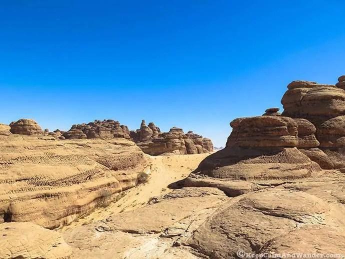 The Diwan at Madain Saleh, Saudi Arabia.