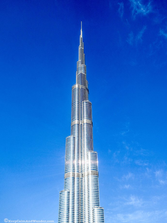 Burj Khalifa is the world's tallest structure.
