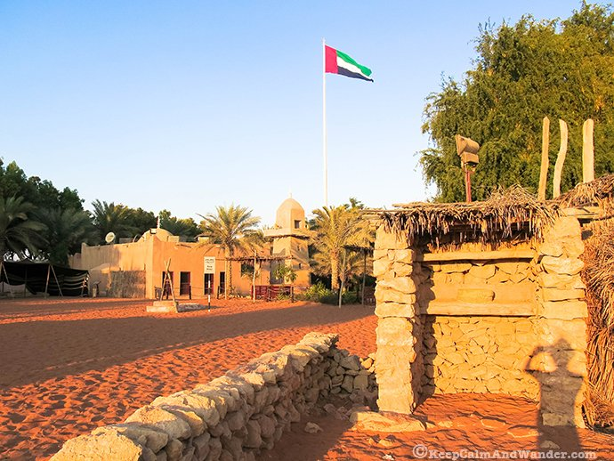 Heritage Village in Abu Dhabi, UAE.