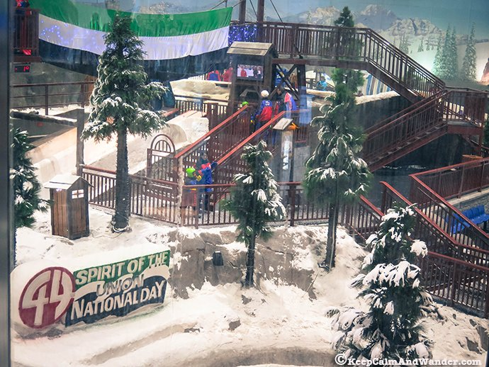 Ski Dubai - Your Fake Winter Wonderland in the Desert.