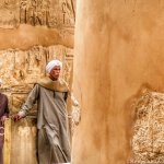 Photos: The Guards at Karnak Temple in Luxor