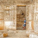 Habu Temple in Luxor is an Architectural Wonder