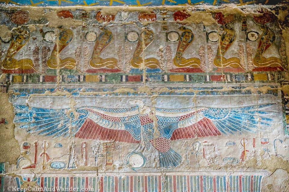 Memorial Temple of Hatshepsut in Luxor (West Bank, Nile River).