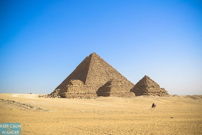 From Downtown Cairo to the Pyramids by Public Transport