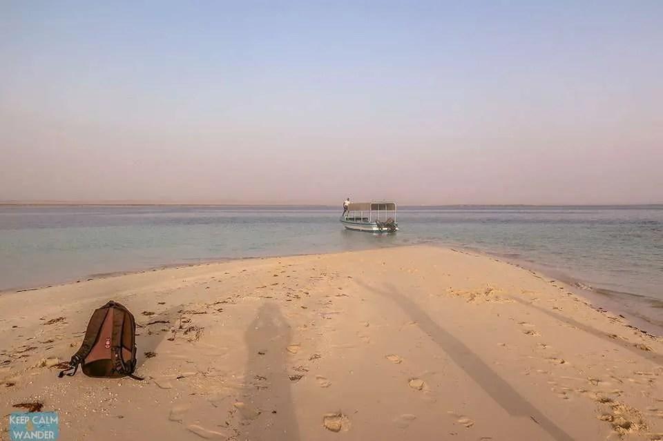 Another White Beach Island in Saudi Arabia.