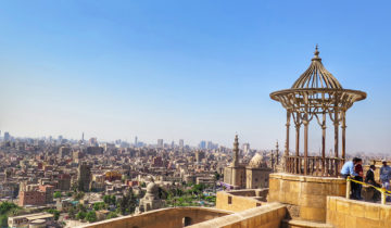 Cairo's Skyline from The Citadel.