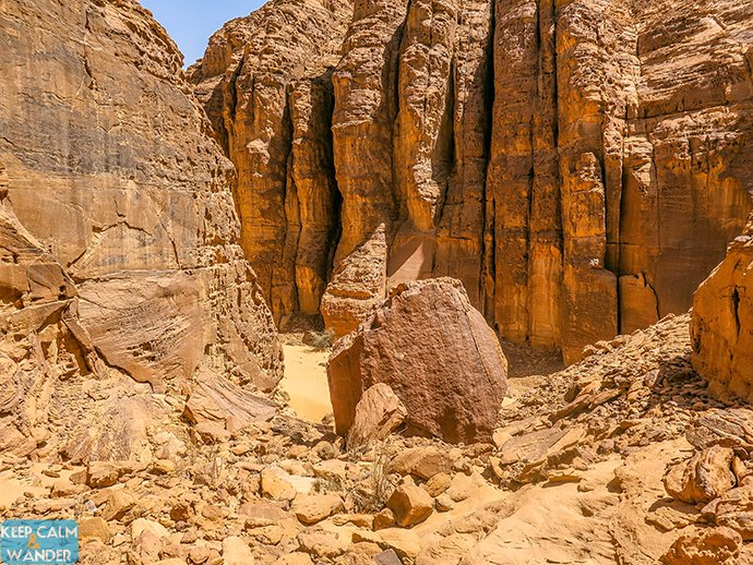 I Wore Slippers Climbing Mountains in Al Ula
