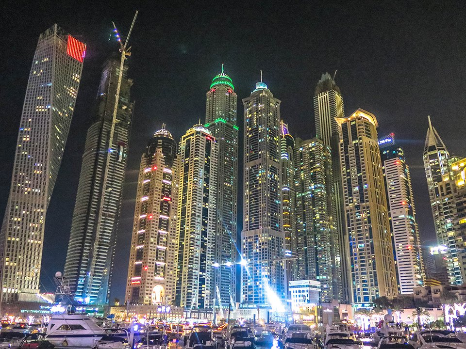 Do You Know What I Did last Summer? Dubai Marina
