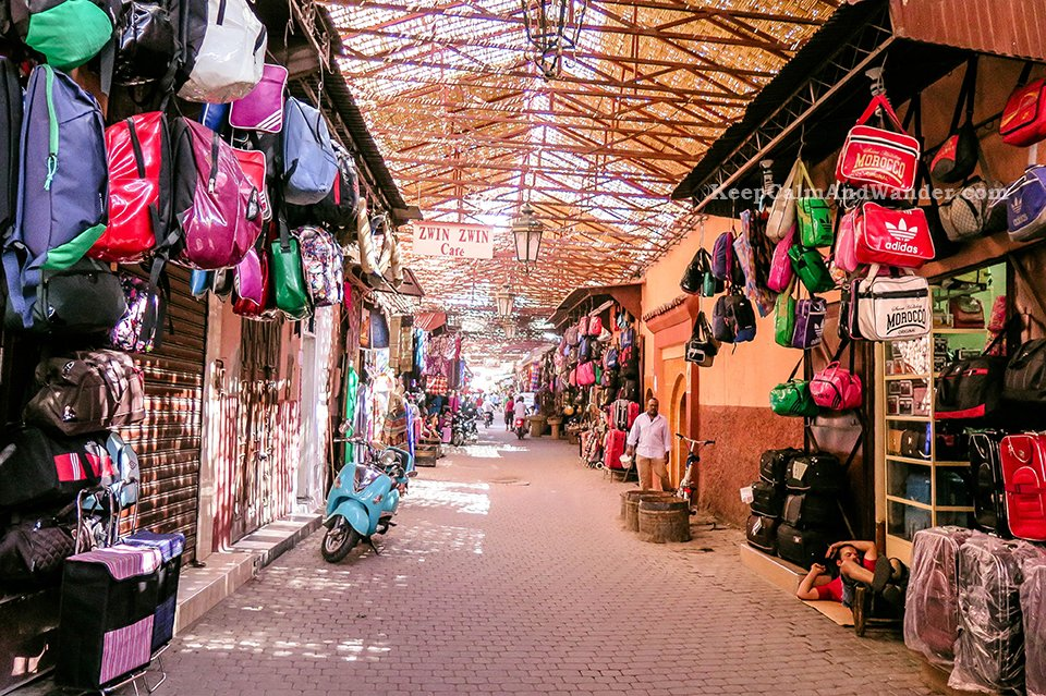 Marrakech Medina is an Assault to the Senses (Morocco).