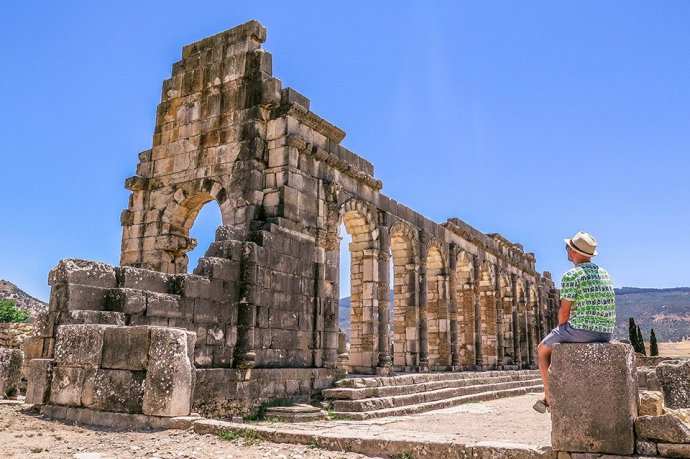 Do You Know What I Did last Summer? I visited Volubilis, Morocco.