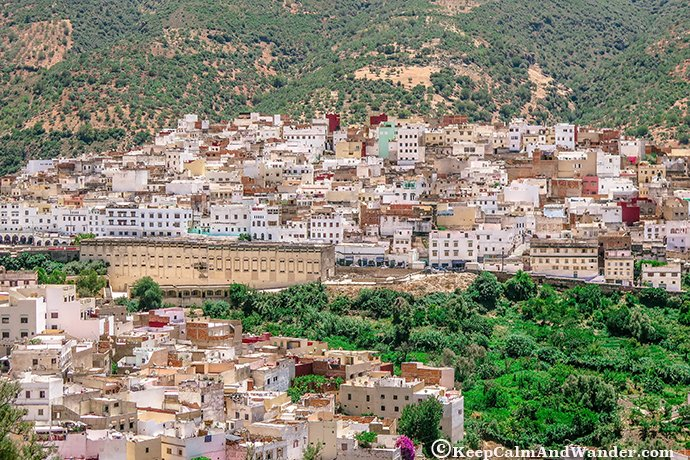 Moulay Idriss - The Birthplace of Islam in Morocco.