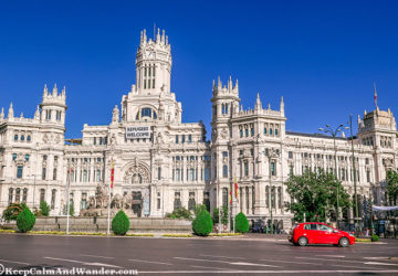 The Inside and Outside Beauty of Cibeles Palace