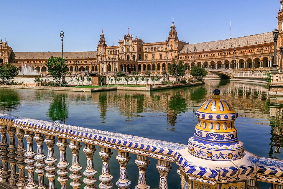 Plaza De Espa 241 A Is Planet Naboo In The Star Wars Film