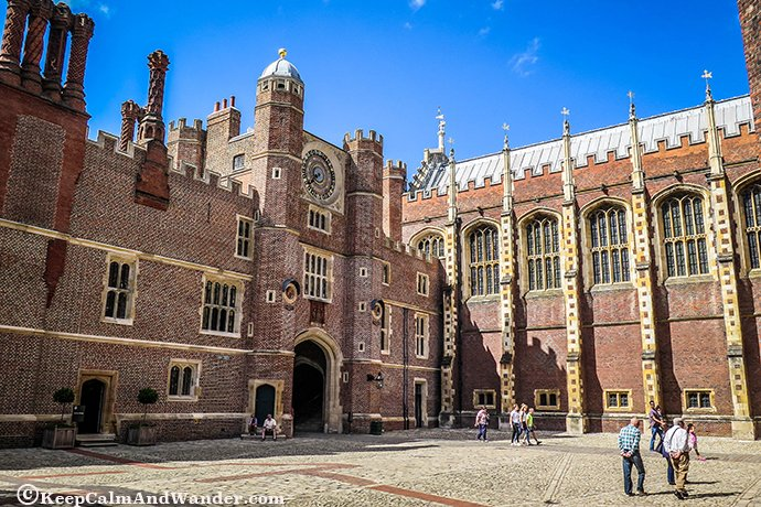 Hampton Court Palace is both Tudor and Baroque architecture in one.