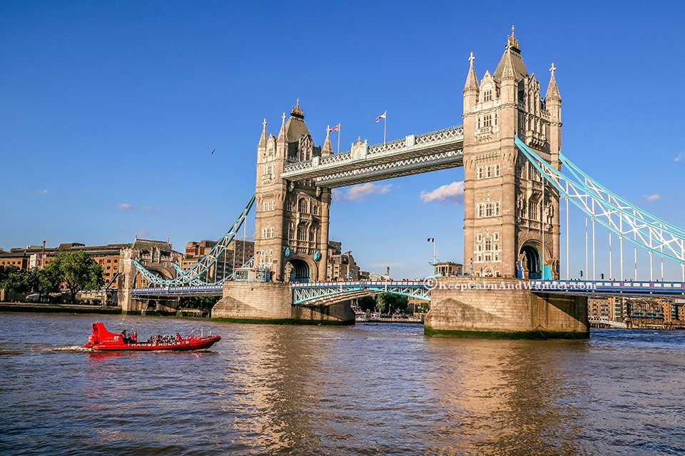 Tower Bridge is not The London Bridge We Learned in Nursery School
