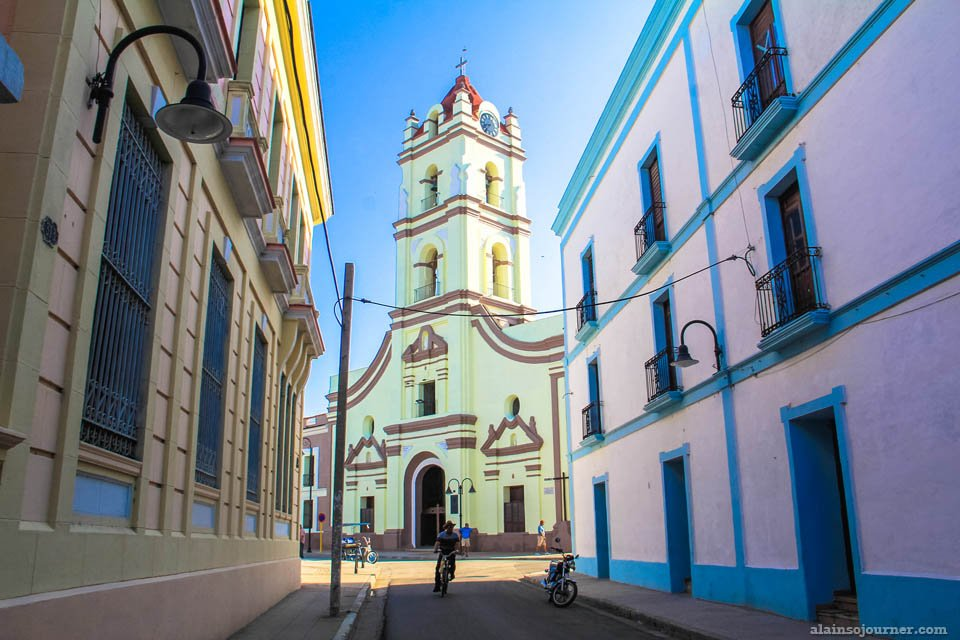 Visit a church in Camaguey