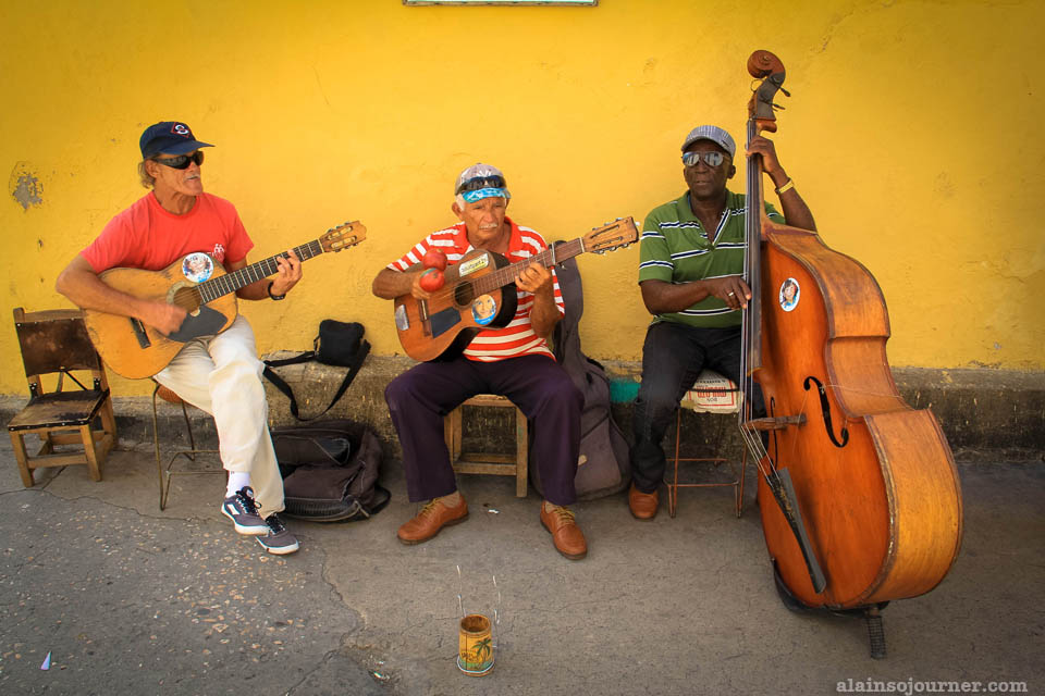 Things to do in Cuba: Jam with the local musicians.