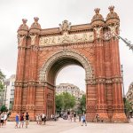 The Majestic Arc de Triomf in Barcelona