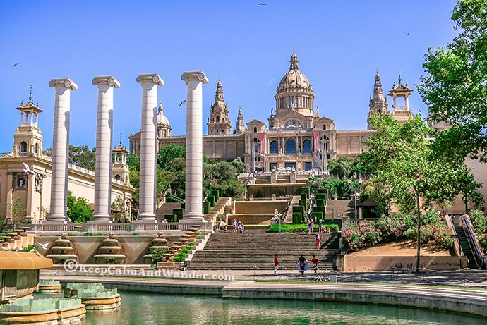 Take a Peek of Catalan Art at MNAC (Museo Nacional d'Art de Catalunya).