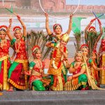 Indian Dancers at the Red Fort in New Delhi