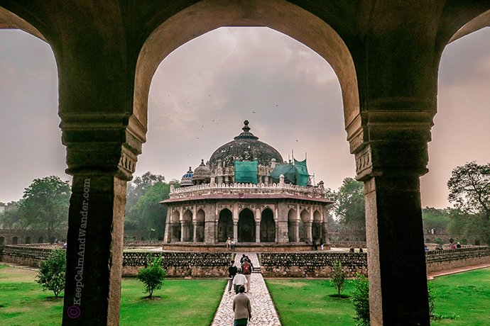 Isa Khan Tomb - An Asylum of Paradise (New Delhi, India)