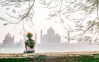 I Wasn't Allowed to Bring my Rainbow Wig Inside the Taj Mahal.