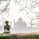 I Wasn't Allowed to Bring my Rainbow Wig Inside the Taj Mahal