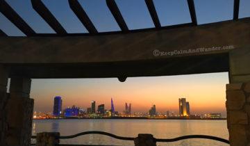 Bahrain Skyline at Night (Manama).